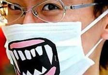 маска от свиного гриппа
