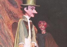 Сцена из спектакля«Чертова мельница»