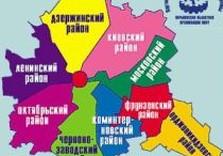 районы харькова