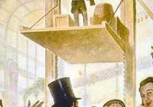 древний лифт