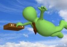 чиновник летит