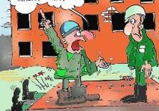 стройка карикатура
