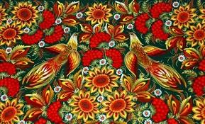 Петриковскя роспись - визитная карточка Украины