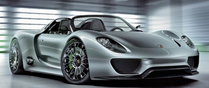 Porsche обезопасил гиперкар 918 Spyder от плагиаторов