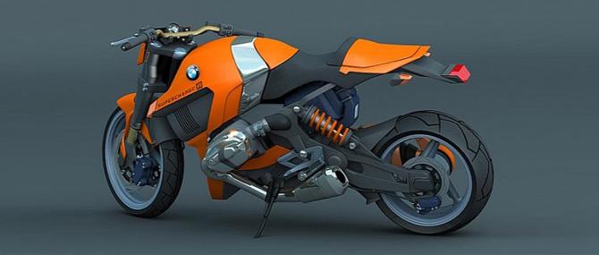 BMW порадует поклонников футуристичным дизайном нового концепт байка