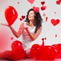 день валентина, фэн-шуй,дом,украшение,девушка,дюбовь
