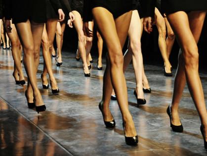 Для KhFD отбирали только самых длинноногих и стройных девушек