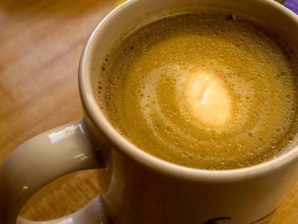 Кусочек ароматного масла и кофе. Попробуйте!