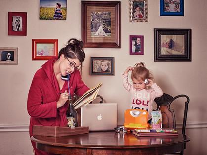 С маленькими детьми никогда не бывает скучно!