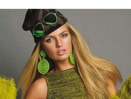 Меха, крупные аксессуары, разъедающие глаз цвета и микрошорты - 90е вернулись на страницы Vogue