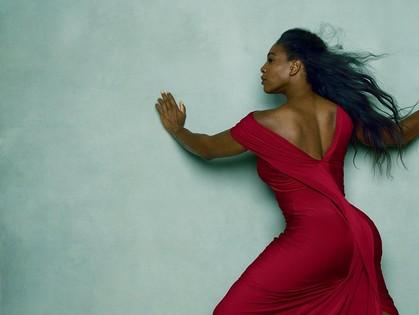 Спортсменка Серена Уильямс выглядела невероятно женственно в новых съемках для Vogue