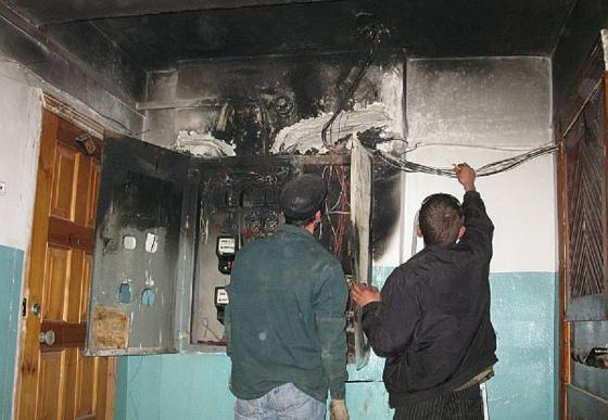 ВХарькове впроцессе пожара спасли женщину идвухлетнего ребенка