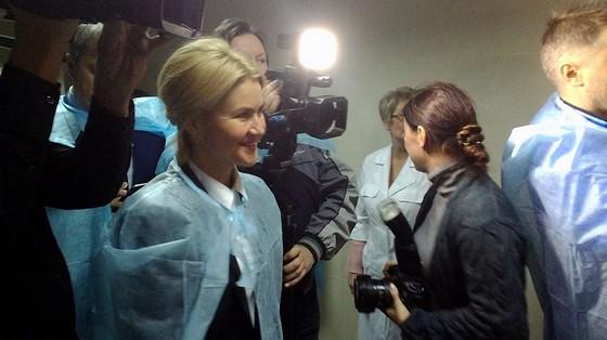 Шевченко иигроки сборной государства Украины навестили воинов АТО вгоспитале