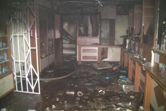 Пожар вХарькове: наСалтовке горела аптека