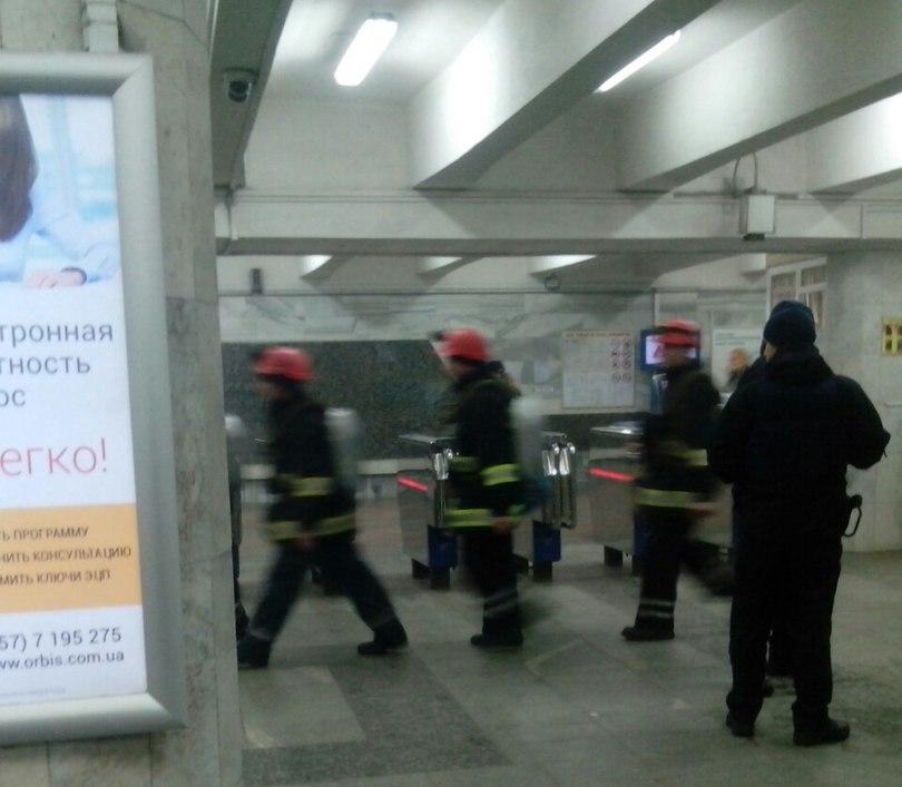 Станцию метро вХарькове закрыли из-за чудовищного дыма