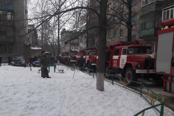 Взрыв вдоме наХарьковщине, пятеро пострадавших