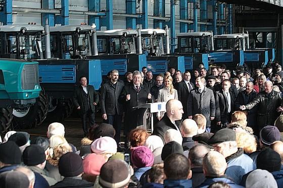 Порошенко: Янеставил перед собой цель стать президентом Украинского государства