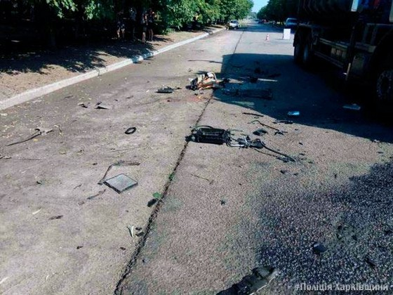 Запечатлели свою смерть: наХарьковщине девушки попали вДТП впрямом эфире