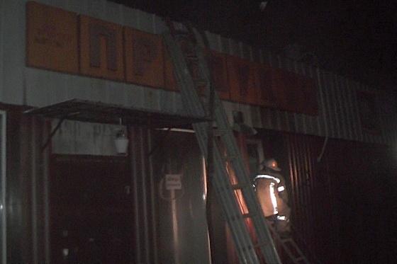 Практически 6 часов команды ГСЧС тушили пожар усела Александровка