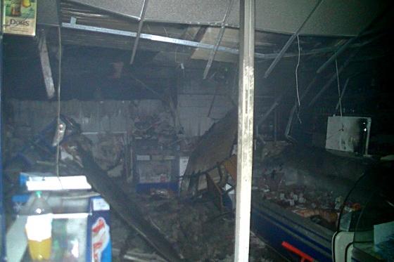 Ночью вХарькове сожгли «Аптеку оптовых цен»