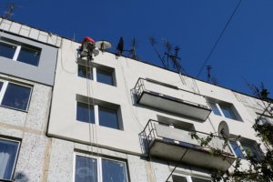 Восстановленные квартиры, которые сгорели во время взрывов. Фото Светланы Севальной.