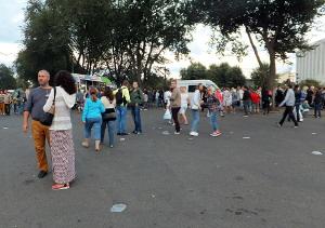 Прошлый фестиваль еды в сквере Стрелка.