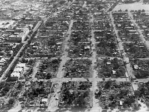 Разрушенные кварталы Ашхабада.