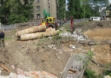 строительство гостиницы на площади Свободы