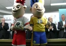 близнецы талисманы евро-2012 и кернес