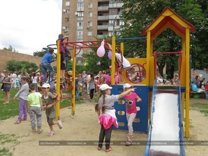 детская площадка харьков