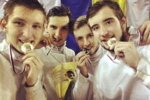 Харьков - первое место по фехтованию среди юниоров