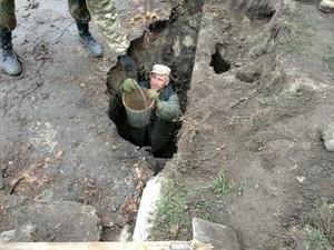Предположительно, тоннель ведет к реке