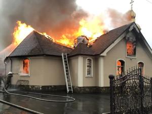 Храм во время Второй мировой войны был взорван немцами