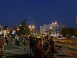 Жители харьковского района Холодная Гора вновь вышли на протест