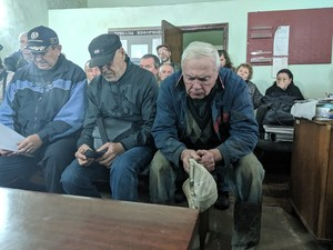 Акцию проводят работники Московского филиала